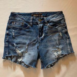 Rue 21 ripped jean shorts